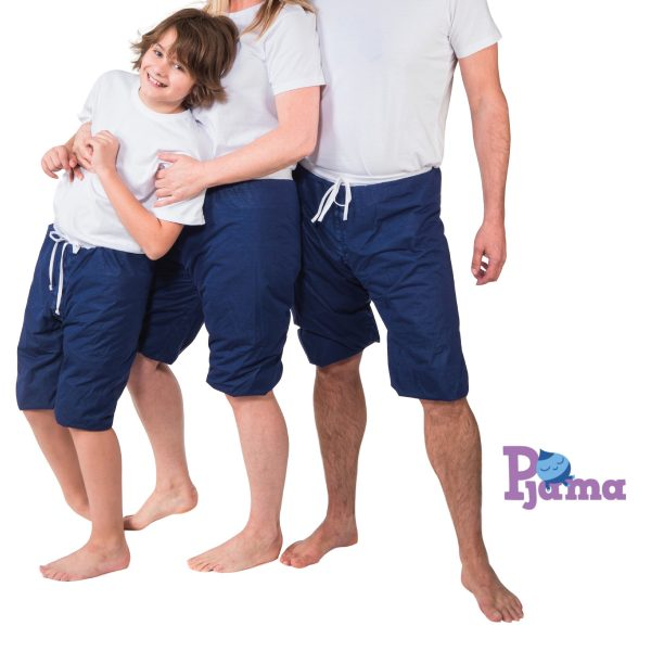 pjama no fear le pyjama shorty magique contre le pipi au lit. Black Bedroom Furniture Sets. Home Design Ideas