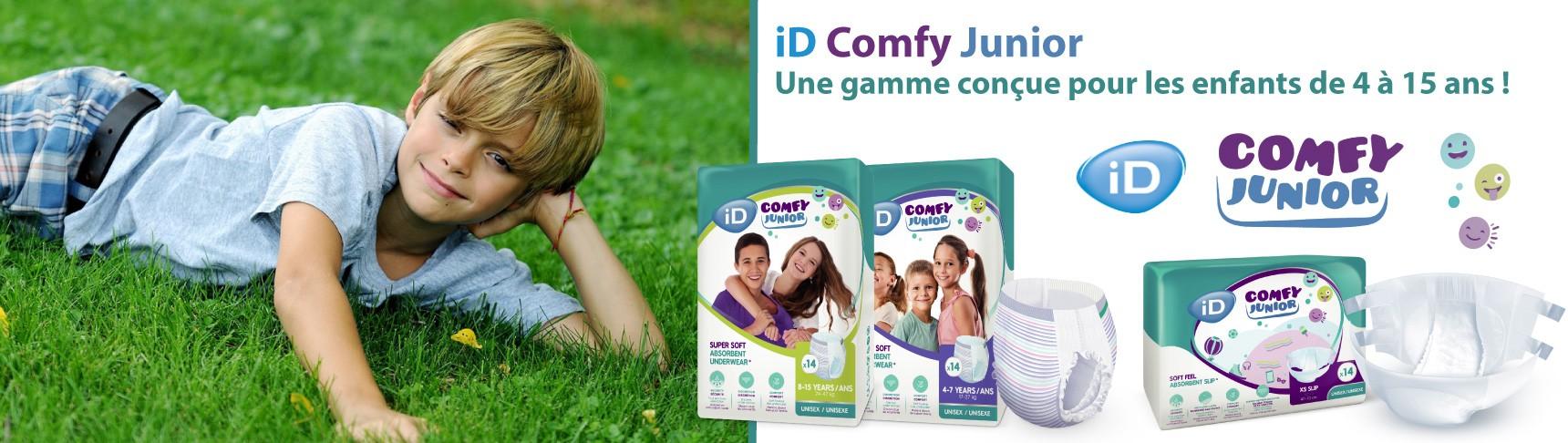 ID COMFY JUNIOR, les protections pour enfants