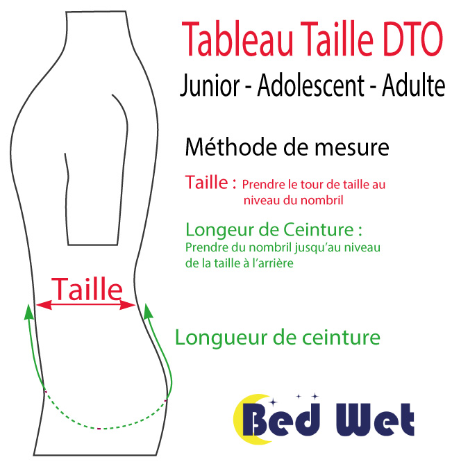 Taille Culotte DTO Piscine