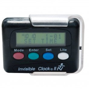 Invisible Clock II - Pager de rappel vibrant et/ou sonore invisible.clock2 par TIME NOW  INC