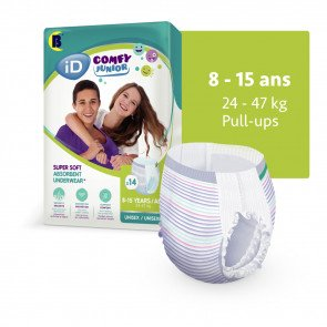 iD Comfy Junior Pants 8 - 15 ans 5501245140 par ONTEX-ID