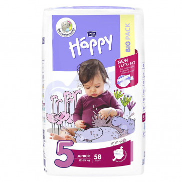 Happy Junior (12 - 25 kg) T5 - 58 couches BB-054-JU58-021 par HAPPY