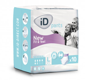 iD Pants Fit & Feel Normal L 5521355100 par ONTEX-ID