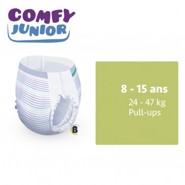 iD Comfy Junior Pants 8 - 15 ans - à l'unité 5501245140-UNIT par ONTEX-ID