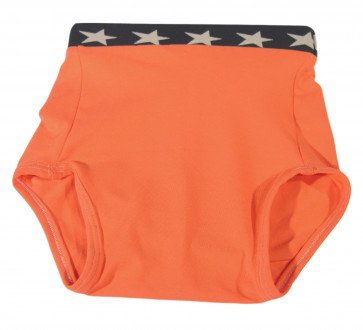Culotte Arthus Coton Uni Orange ARTHUS-OR par KIDDO