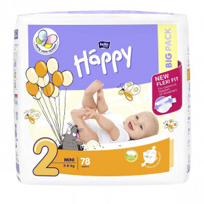 Happy Mini (3 - 6 kg) T2 - 78 couches BB-054-MI78-008 par HAPPY