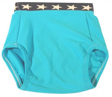 Culotte Arthus Coton Uni Bleu Turquoise ARTHUS-BLE par KIDDO