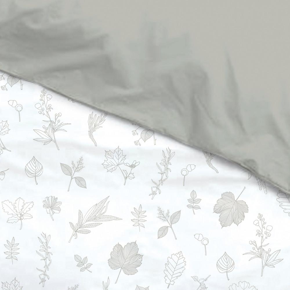 Housse de couette feuilles louis le sec bed wet store for Housse de couette liou