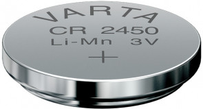 Pile CR2450 3V Lithium VARTA © 344e par VARTA