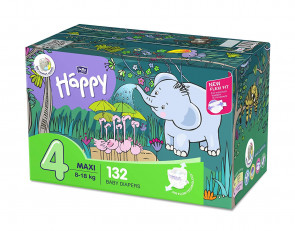 Happy Maxi (8 - 18 kg) T4 - 132 couches BB-054-LU66-008-big par HAPPY