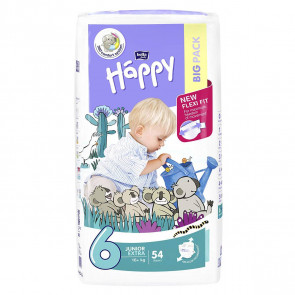 Happy Junior Extra (+16 kg) T6 - 54 couches BB-054-JX54-014 par HAPPY