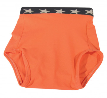 Culotte Arthus Coton Uni Orange ARTHUS-OR par KIDDO