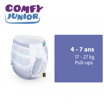iD Comfy Junior Pants 4 - 7 ans - à l'unité 5501135140-UNIT par ONTEX-ID