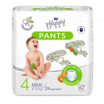 Happy Pants Couches Culottes Maxi  (8 - 14 kg) T4 - 24 unités BB-055-LU24-004 par HAPPY