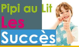 Témoignages des parents et des enfants sur la réussite du traitement du pipi au lit