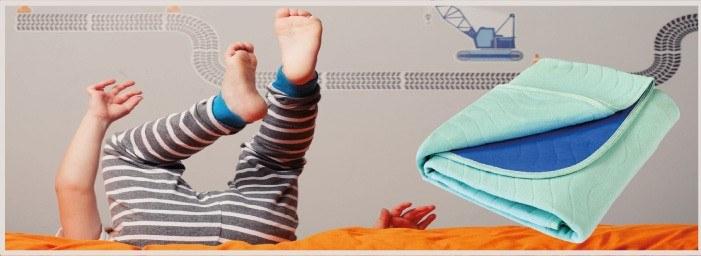 Alèses Lavables pour protéger le lit des enfants