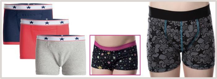 Culottes et Boxers lavables et absorbants pour fuites urinaires