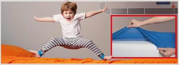 Protège Matelas 100% imperméable, idéal pour le pipi au lit et l'incontinence