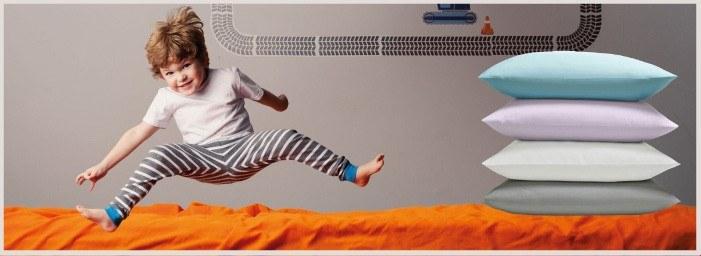 Protection des oreillers contre la transpiration, le pipi au lit, les allergies et les acariens
