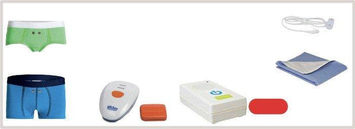 Kits Complets pour traiter les enfants contre le pipi au lit