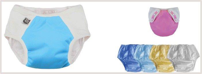 Culottes de Protections pour recouvrir les couches lavables et éviter les fuites
