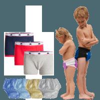 sous vêtements pour incontinence et énurésie