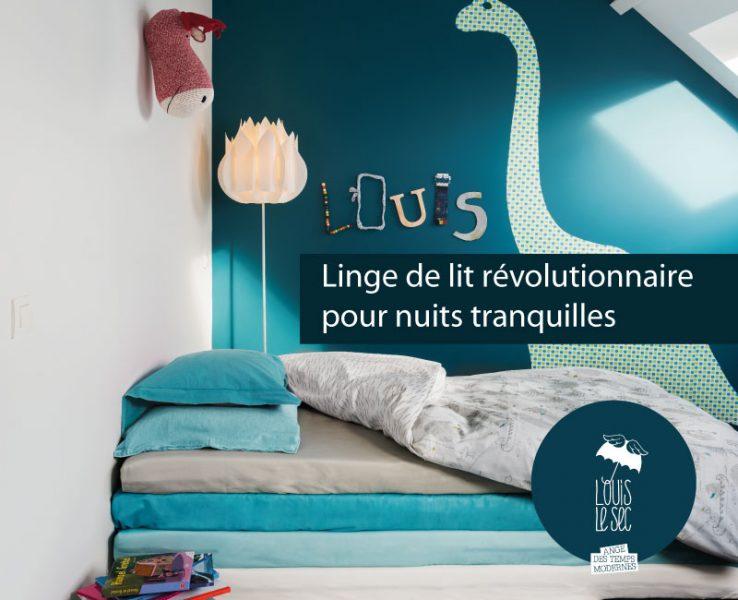 Découvrez la collection Louis le Sec sur Bed-wet