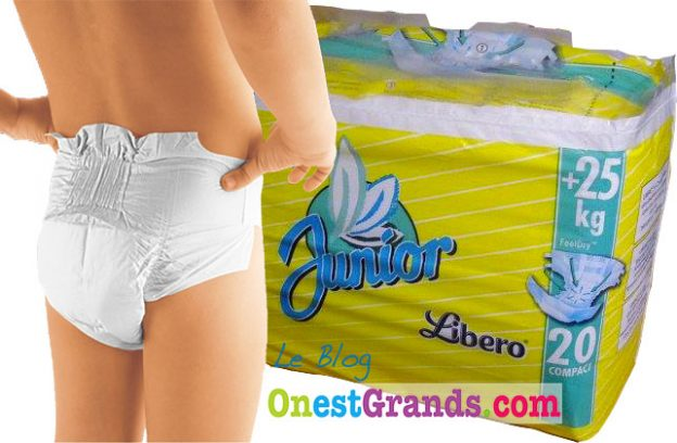 """Libero Junior +25kg , le change complet des """"plus grands"""""""