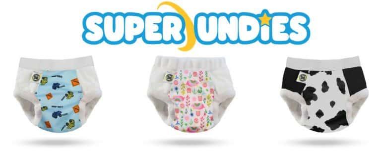 Exclusivité : la toute nouvelle gamme Super Undies de culotte avec Insert