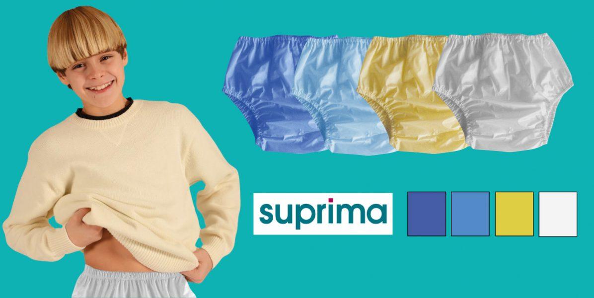 PIPI AU LIT : Culotte Suprima 8117 en PVC